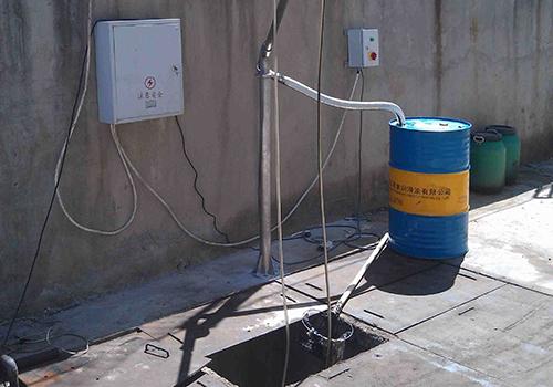 Ölskimmer für kleine Pumpensümpfe