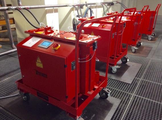 Die elektrostatische Ölreinigung von Friess verlängert die Lebensdauer von Hydrauliköl