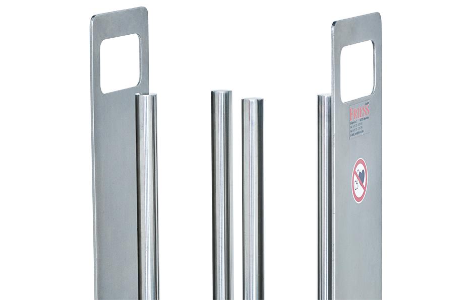 Das Magnetgitter von Friess filtert Partikel aus Kühlschmierstoff, Schneidölen und Schleifölen