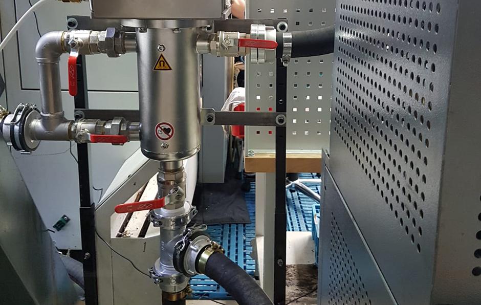 Magnetfiltration Magnetfiltration erhöht die Standzeit von Kühlschmierstoffen