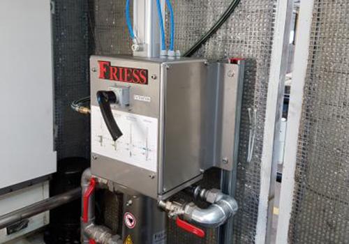 Smarte Reinigung dank halbautomatischem Reinigungssystem im Magnetfilter