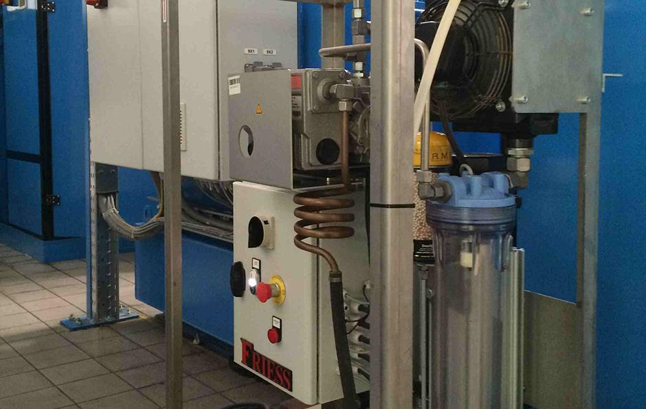 Friess Oelentwaesserungsanlagen verhindern Korrosion, Verschleiß und Rostpartikel