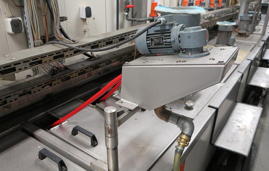 Friess Ölskimmer mit Ölaufnahmeschlauch