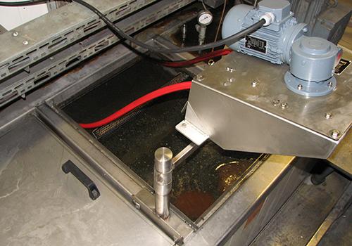 Der Friess Ölskimmer Modell W20 kann problemlos im Dauerbetrieb genutzt werden