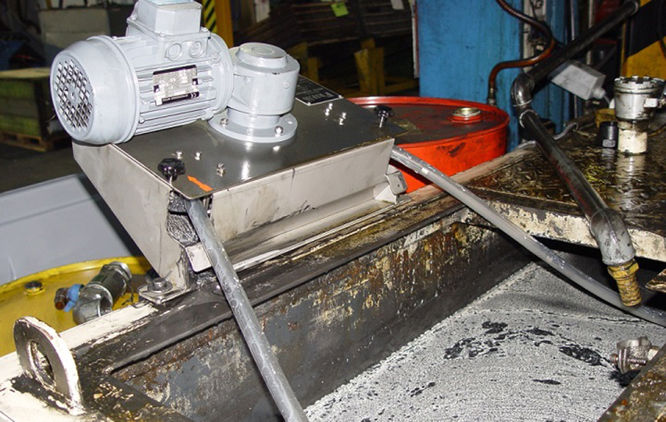 Dank innovativer Bauweise kann der Ölskimmer W40 selbst in hohen Förderhöhen verwendet werden